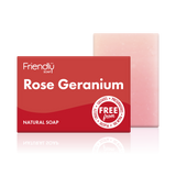 Rose Geranium Soap Bath Bar