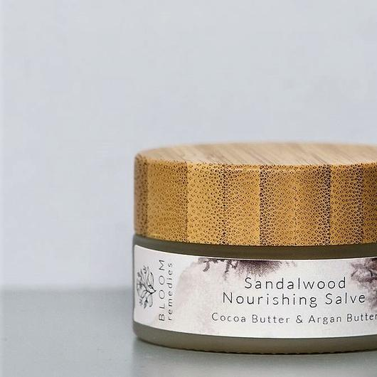 Organic Sandalwood Nourishing Salve With Argan Butter & Benzoin