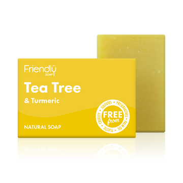 Tea Tree & Turmeric Soap Bath Bar