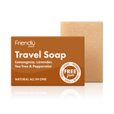 Travel Hair and Body Soap Bar