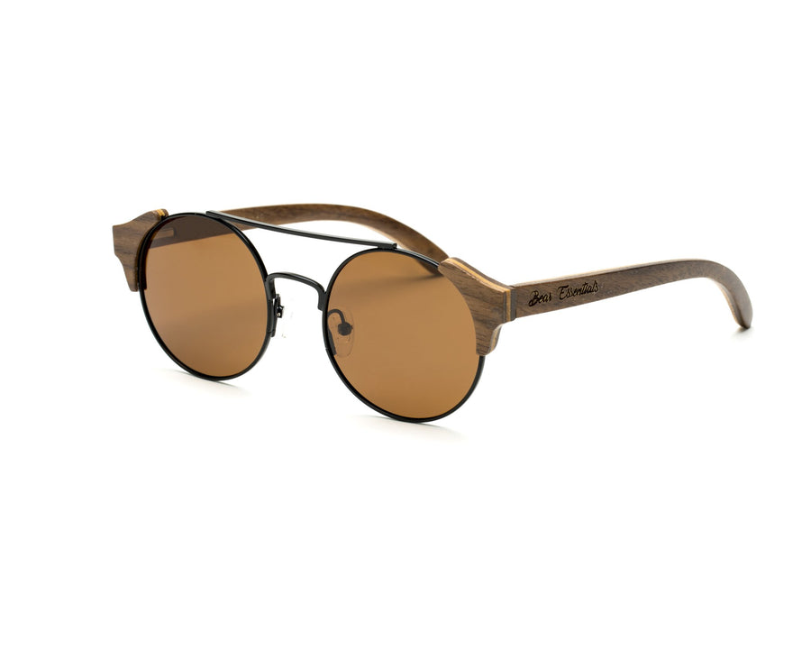Panda Bear Wooden Sunglasses
