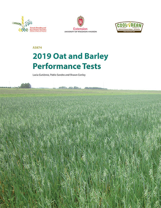 Wisconsin Oats and Barley Performance Tests—2019