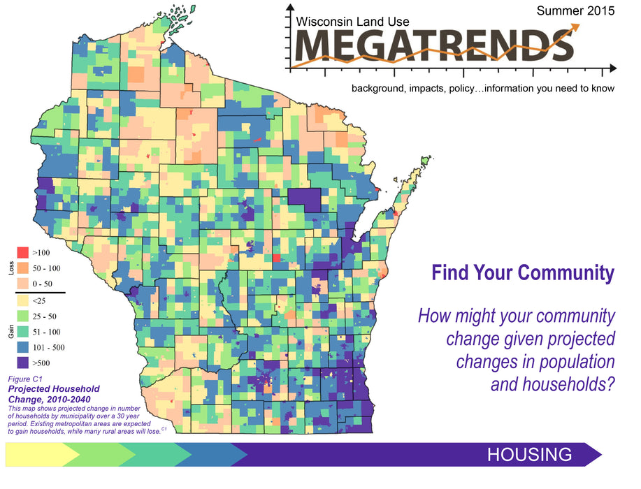 Wisconsin Land Use Megatrends: Housing