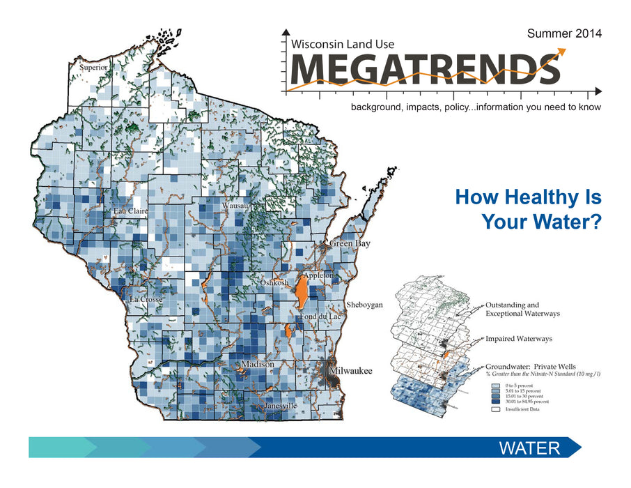 Wisconsin Land Use Megatrends: Water