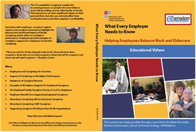 What Every Employer Needs to Know, Helping Employees Balance Work and Eldercare