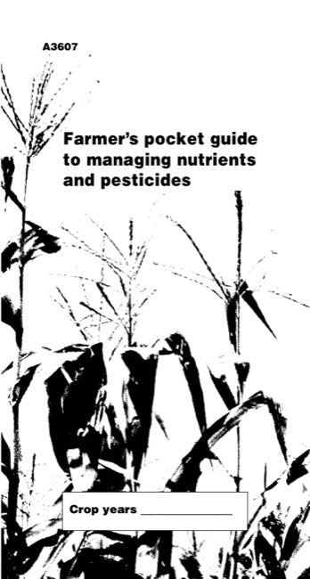 Farmer's Pocket Guide to Managing Nutrients and Pesticides