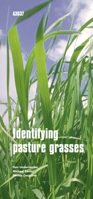 Identifying Pasture Grasses The Learning Store