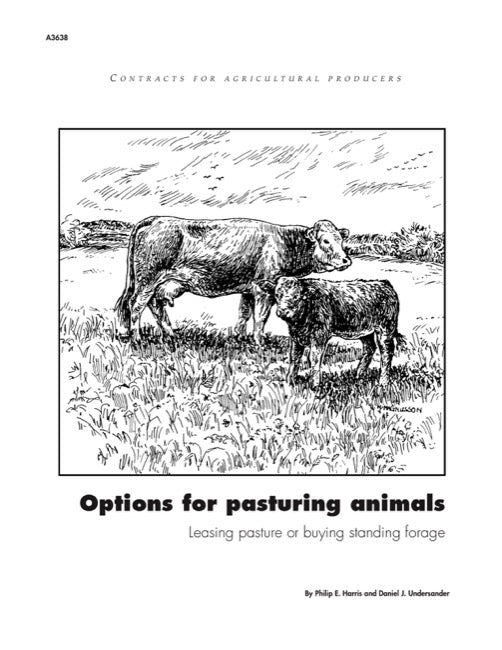 Options for Pasturing Animals