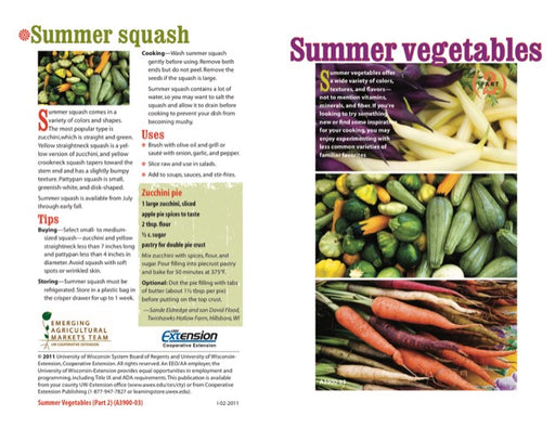 Summer Vegetables (Part 2)