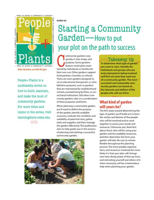 Starting a Community Garden—How to Put Your Plot on the Path to Success