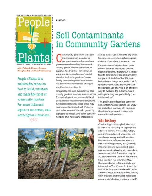 Soil Contaminants in Community Gardens