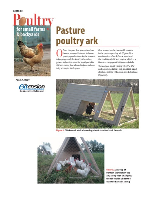 Pasture Poultry Ark