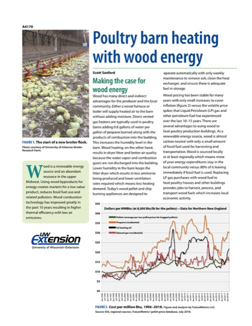 Poultry Barn Heating with Wood Energy
