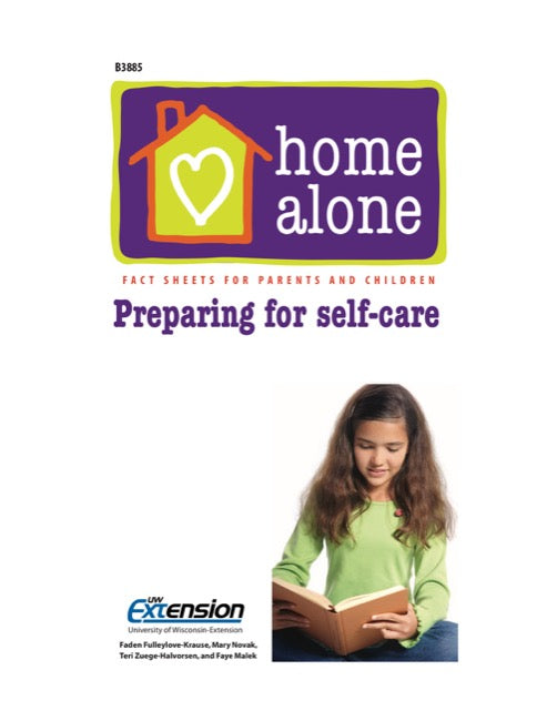 Home Alone: Preparing for Self-Care