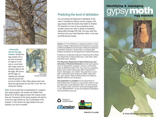 Gypsy Moths: Identifying and Managing Gypsy Moth Egg Masses