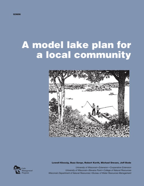 Model Lake Plan for a Local Community, A