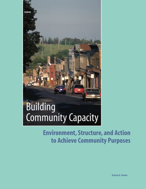 Building Community Capacity: Environment, Structure, and Action to Achieve Community Purposes