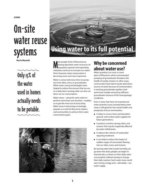 On-Site Water Reuse Systems: Using Water to Its Full Potential
