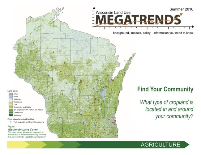 Wisconsin Land Use Megatrends: Agriculture