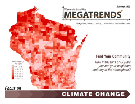 Wisconsin Land Use Megatrends: Climate Change