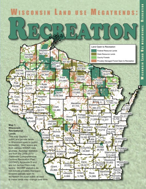 Wisconsin Land Use Megatrends: Recreation