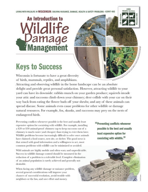 Introduction to Wildlife Damage Management, An