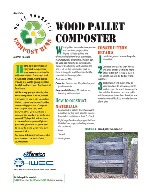 Wood Pallet Composter