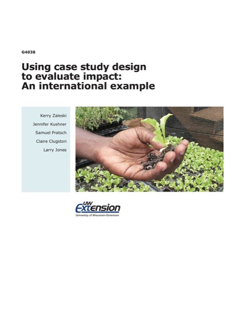 Using Case Study Design to Evaluate Impact: An International Example