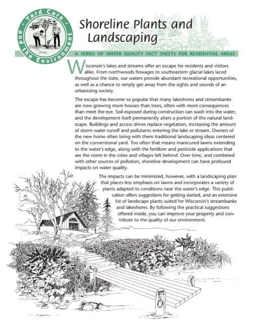 Yard Care Series: Shoreline Plants and Landscaping