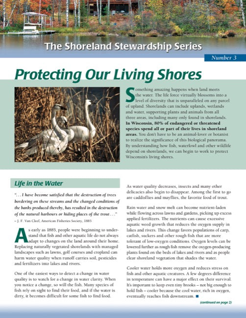 Protecting Our Living Shores