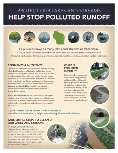 Protect Our Lakes & Streams: Help Stop Polluted Water Runoff