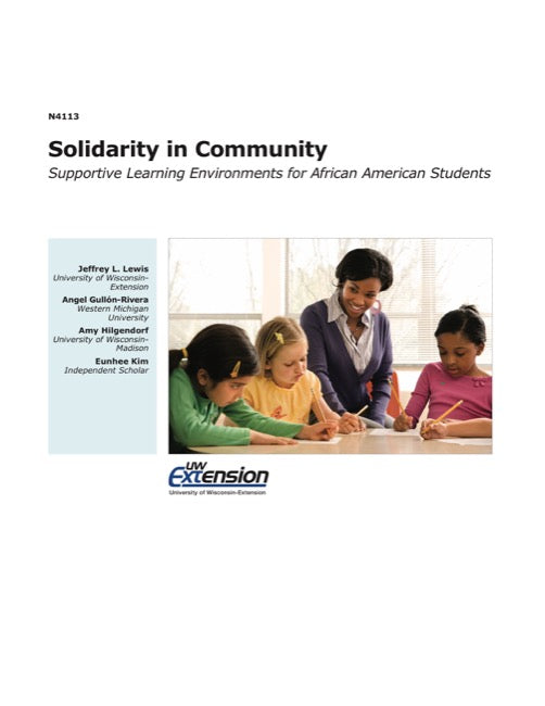 Solidarity in Community—Supportive Learning Environments for African American Students