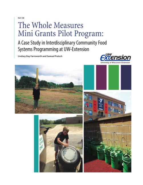 The Whole Measures Mini Grants Pilot Program