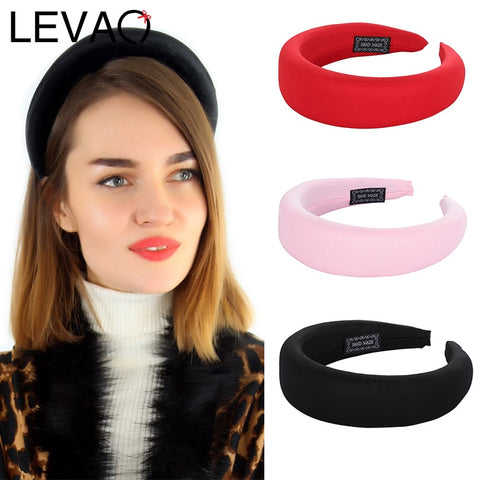 Multi-Color Wide Stretch Headband