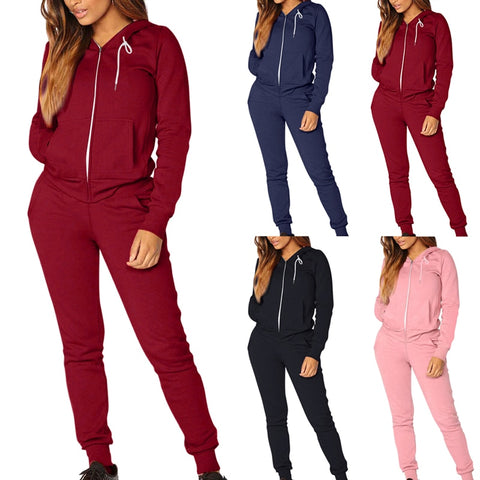 Annie Elastic Running Sports Suit