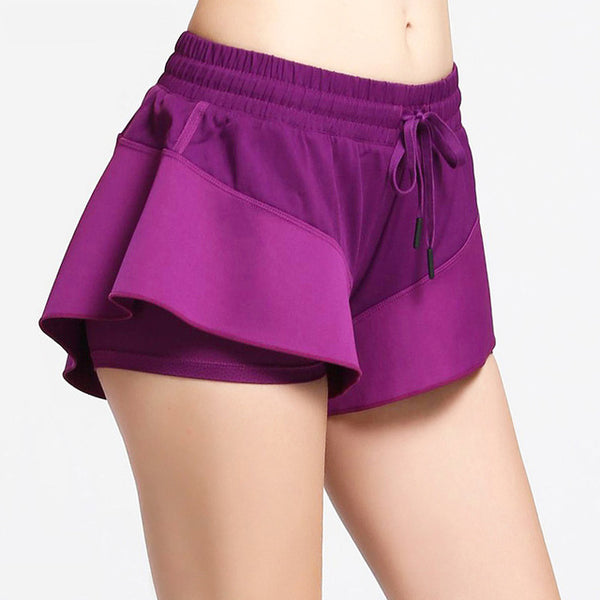 Christine Double Layer Workout Shorts