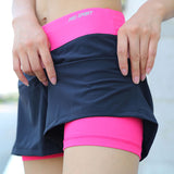 Double Layer Running Shorts