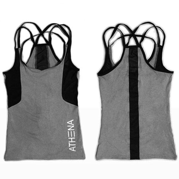 Rosie Quick Dry Fitness Tank Top - Mrym Active Wear