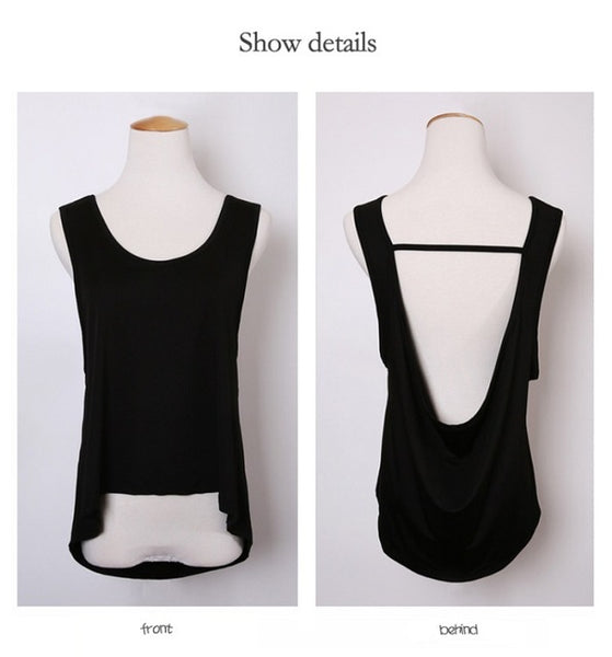 Noemi Quick Dry Loose Tank Top