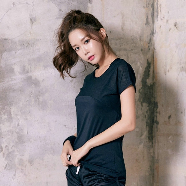 Frieda Quick Dry Cropped Tee