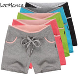 Spring Drawstring Fitness Shorts