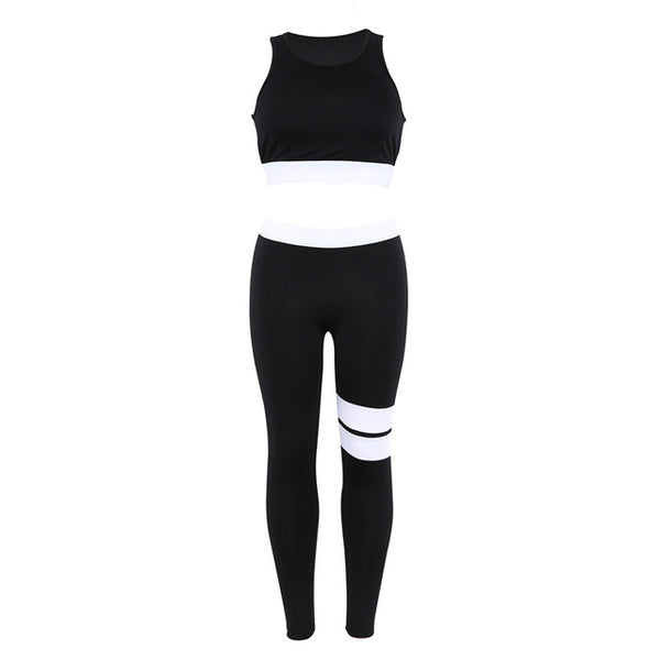 Mystery Stripe Fitness Set - Mrym Active Wear