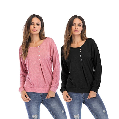 Dora Long Sleeves Plus Size Top