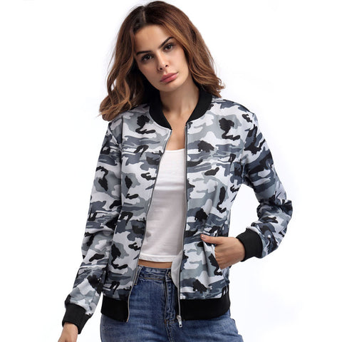 Camouflage Breathable Fitness Jacket