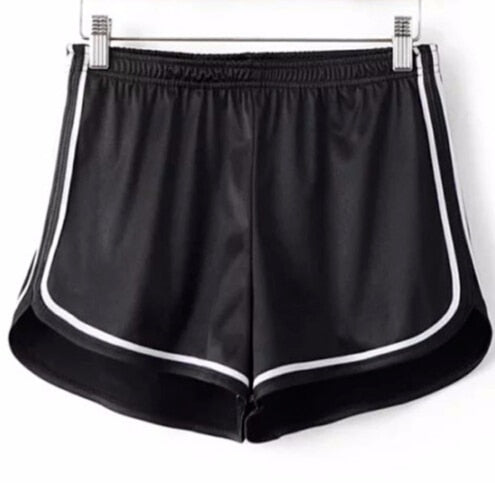 Corry Silky High Waist Shorts