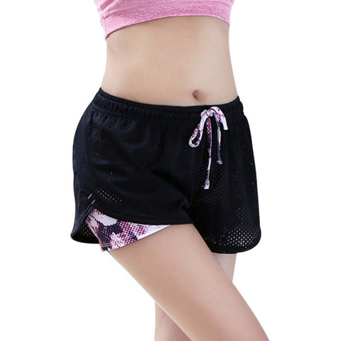 Angel Two Layers Workout Shorts