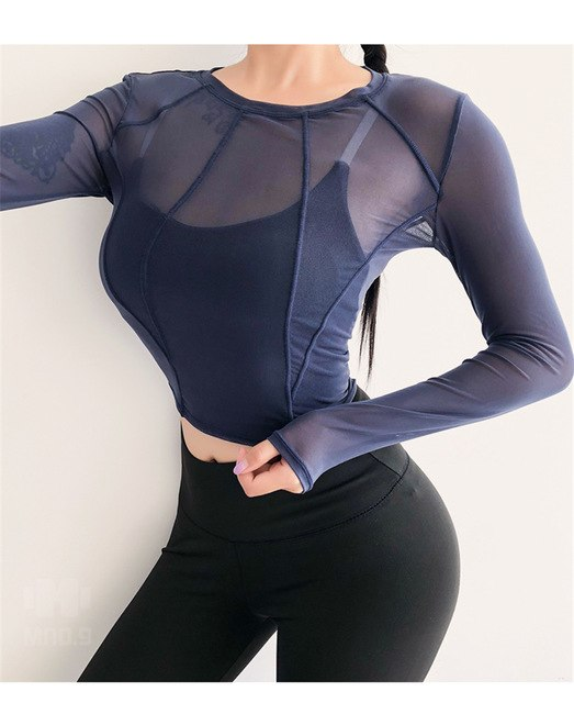 Esther Performance Mesh Top - Mrym Active Wear