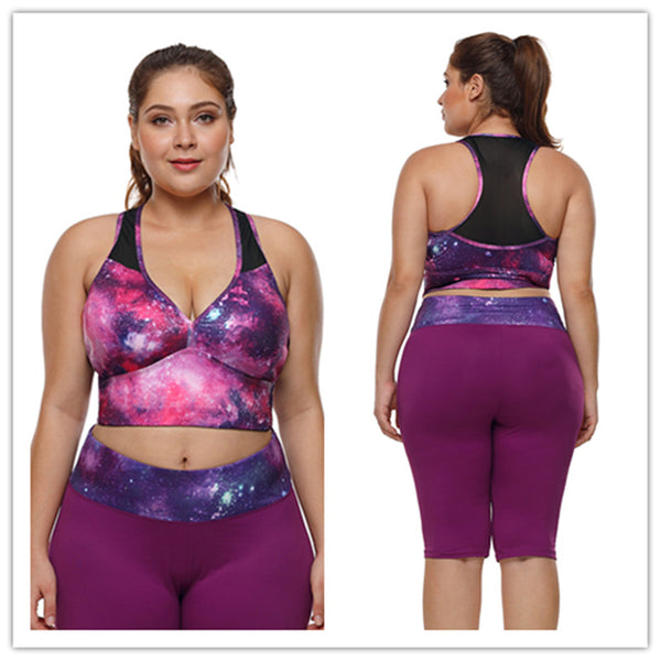 Bernice Plus Size Sports Bra