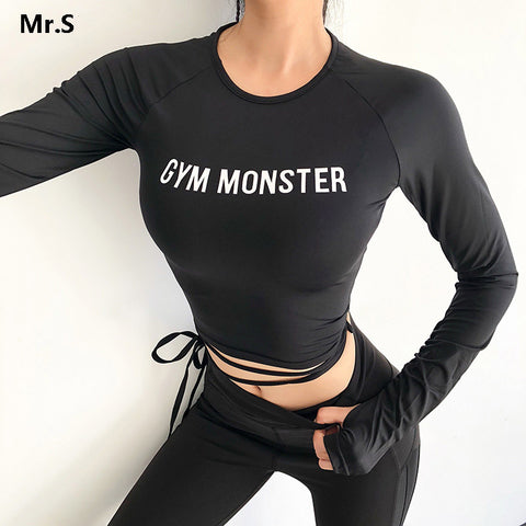 Gym Monster Crop Top