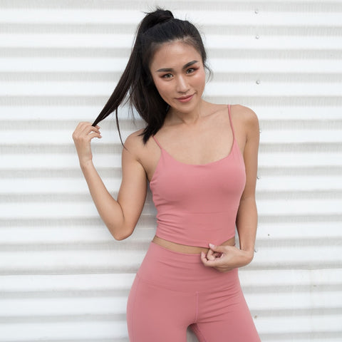 Amber Backless Sports Tank Top